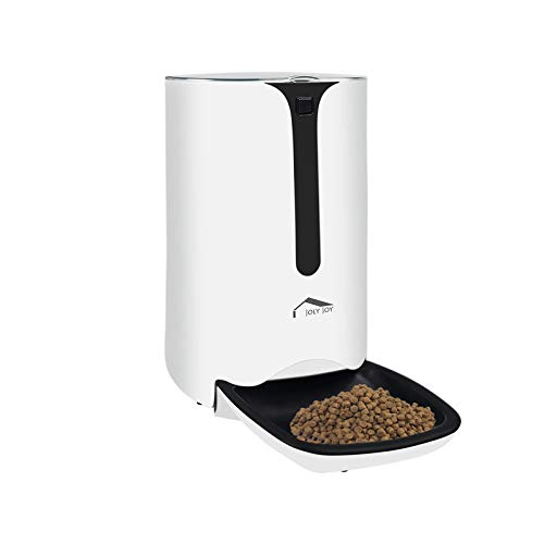 Wellwerks Automatic Pet Feeder Food Dispenser for Cats and Dogs, High...