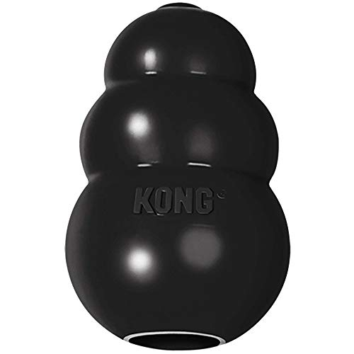 KONG - Extreme Dog Toy - Toughest Natural Rubber, Black - Fun to Chew, Chase and Fetch - for Large...