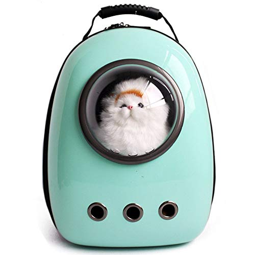 LEMONDA Portable Pet Travel Carrier,Space Capsule Pet Cat Bubble...