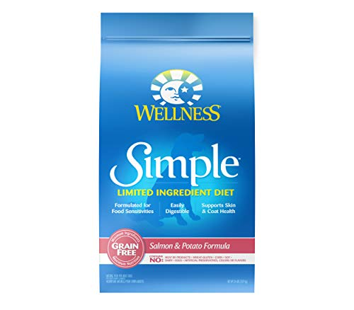 Wellness Simple Natural Grain Free Limited Ingredient Dry Dog Food,...