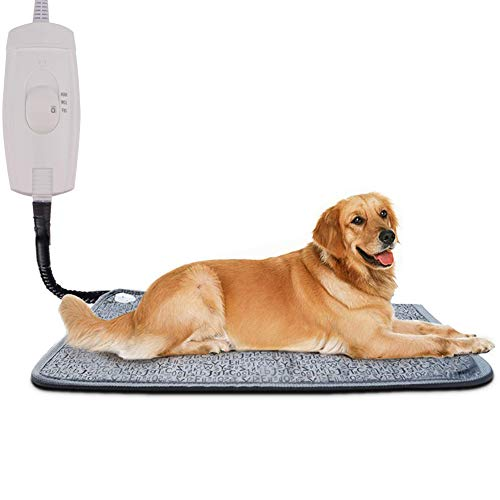 Pet Heating Pad for Cats Dogs, Homello Waterproof Electric Heating Mat...