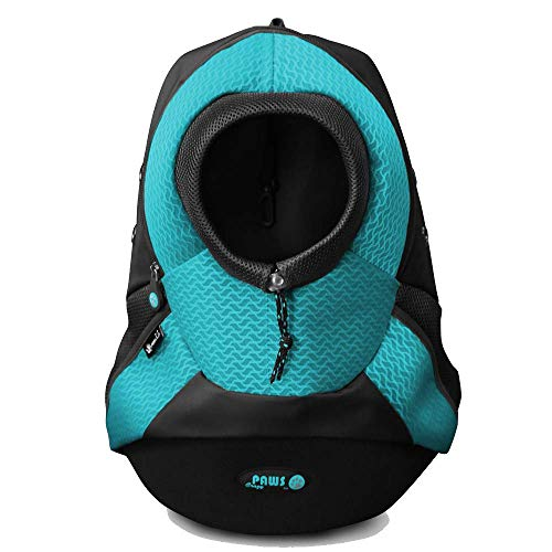 [UPGRADE VERSION]Crazy Paws Pet Carrier Backpack -Travel, Hiking,...