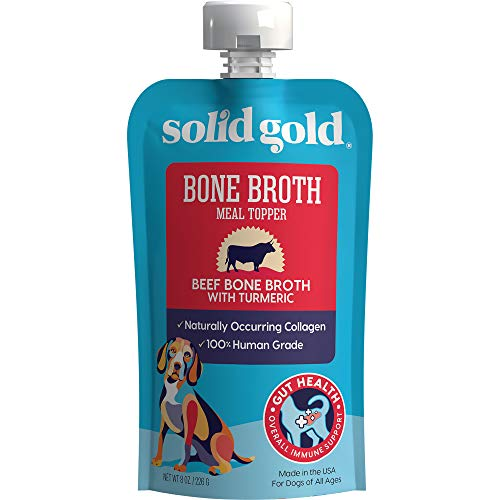 Solid Gold - Beef Bone Broth - Human Grade Beef Bone Broth with...
