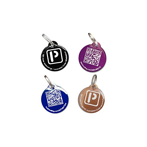 PetDwelling Stainless Steel Value Pack Scannable Pet ID Tag Links to Online Profile w/Google...