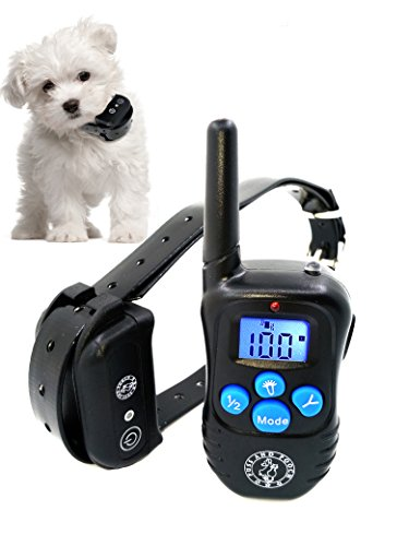 Puss and Pooch Dog Training Collar - Dog Remote Training Collar 300 Meter Range Static Shock Collar...