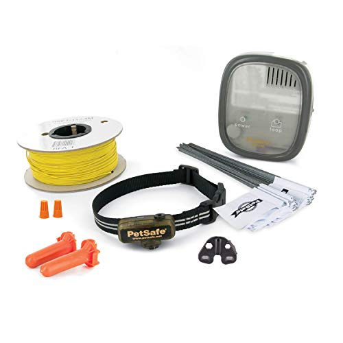 PetSafe Elite Little Dog In-Ground Fence for Dogs and Cats Over 5 lb, Waterproof, with Tone and...
