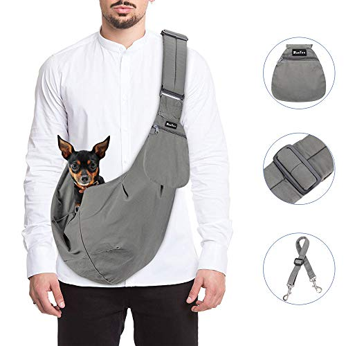 SlowTon Pet Carrier, Hand Free Sling...