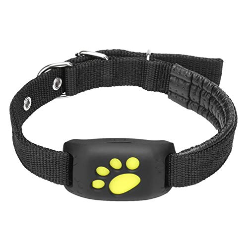 Bonjin GPS Dog Tracker, Pet Tracker Collar, Water-Resistant...