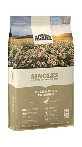 ACANA Singles Limited Ingredient Dry Dog Food, Duck & Pear,...