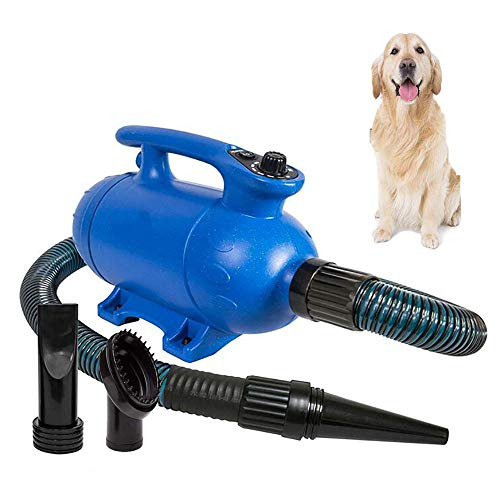 FXQIN 2500W Pet Hair Dryer - Professional Dog Grooming Blower with...