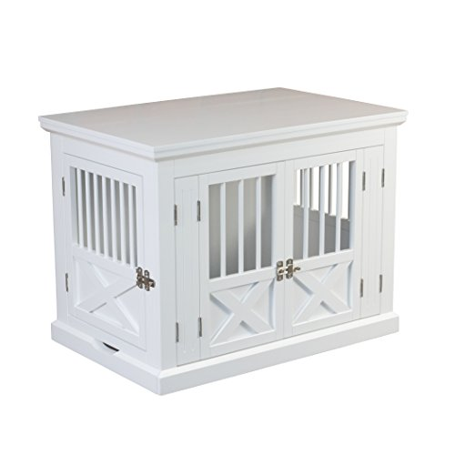 zoovilla Merry Products Triple Door Medium Dog Crate, Dog Kennel, Dog...