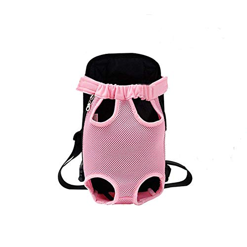 YINGJEE Dog Carrier Pink Legs Out Front...