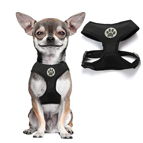 Soft Mesh Dog Harness Pet Walking Vest...