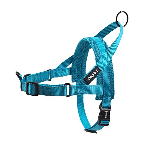 DogFad No-Pull Dog Harness, Mesh Padded Vest Harness, Adjustable...