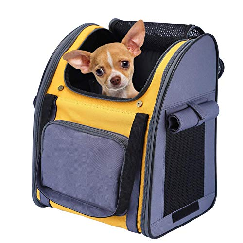 Pettom Pet Backpack Carrier for Small...