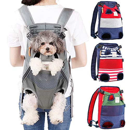 Coppthinktu Dog Carrier Backpack - Legs Out Front-Facing Pet Carrier Backpack for Small Medium Large...