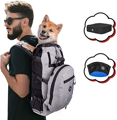 PROPLUMS Dog Carrier Backpack for Small...