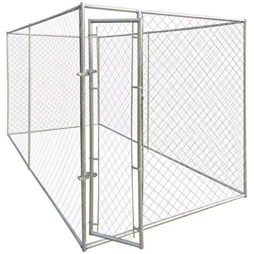 Wendy Ivan Outdoor Dog Kennel 13'x6',...
