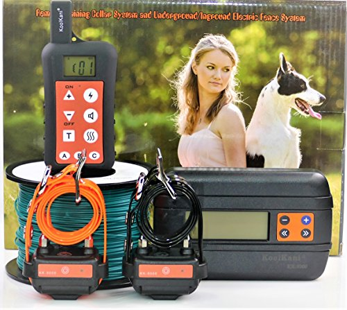 KoolKani Remote Dog Training Shock Collar & Underground/in-Ground...