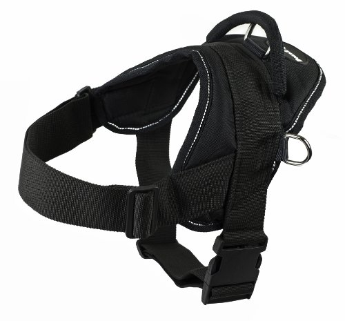 Dean and Tyler DT Dog Harness, Black...