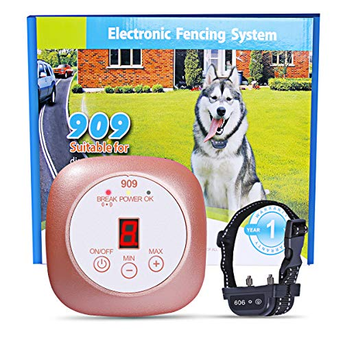YHPOYLP Wireless Dog Fence In-Ground Pet...