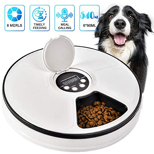 Pet Automatic Feeder Cats Dogs Timed...