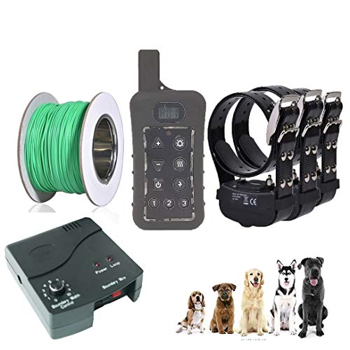 JANPET Underground Electric Dog Fence & 1200Yards Remote Dog Training...