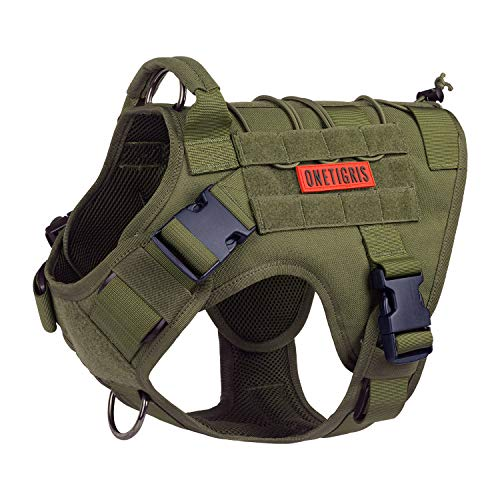 Tactical Dog Harness,No-Pull Vest with...