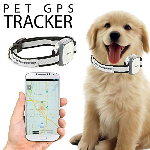 Talis-us Pet GPS Tracker, 3G Dog GPS Tracker and pet Finder The GPS Dog Collar Attachment, Locator...
