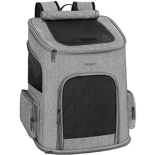 Ytonet Dog Backpack Carrier, Dog Carrier Backpack for Small Dogs Cats,...