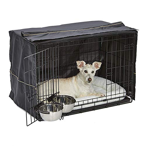iCrate Dog Crate Starter Kit | 30-Inch Dog Crate Kit Ideal for Medium...