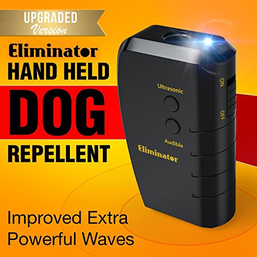 PestZilla Handheld Dog Repellent and Trainer + LED...
