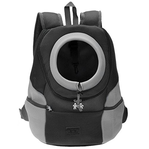 Mogoko Cat Dog Backpack Carrier, Puppy Pet Front Pack with Breathable...