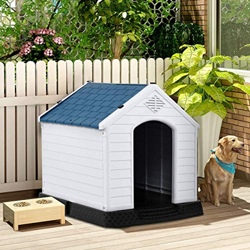 PETSJOY Dog House Waterproof Puppy...
