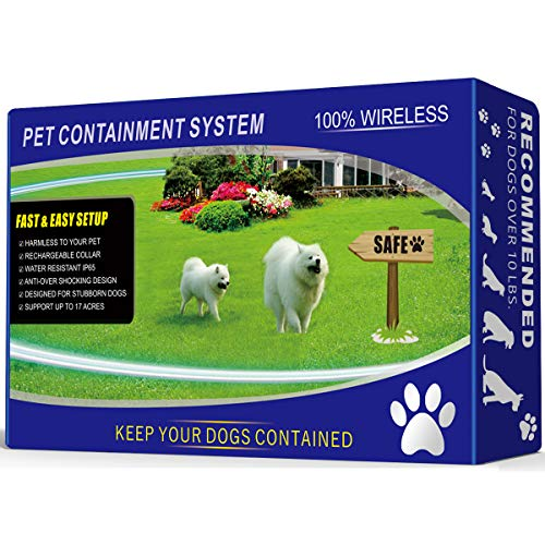 1 Dog Wireless Pet Containment System -...