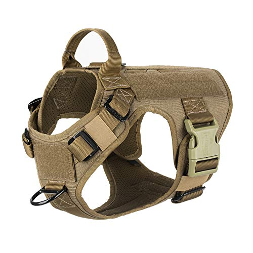 ICEFANG Tactical Dog Patch Harness...