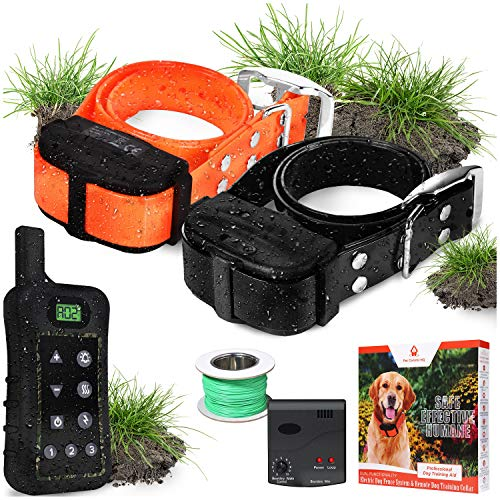 Pet Control HQ Dog Containment System Wireless Perimeter w/ (1 or 2)...