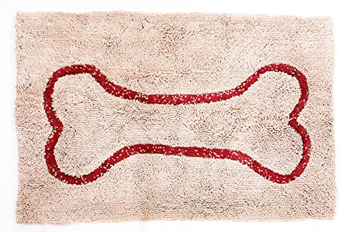 Soggy Doggy 26-Inch by 36-Inch Microfiber Chenille Doormat for Wet Dog...
