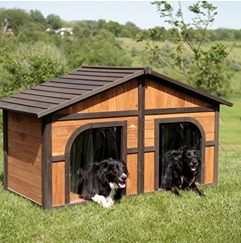Extra Large Solid Wood Dog Houses -...